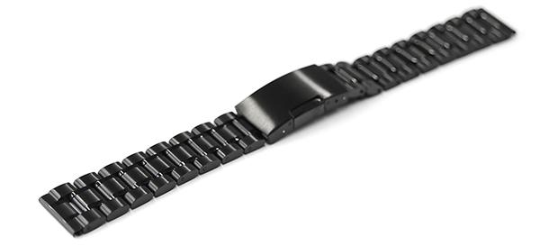 腕時計 ベルト 交換 ステンレス 黒 プレゼント 14mm 16mm 17mm 18mm 19mm 20mm 23mm cs-b 21mm バンド 24mm 26mm 22mm サイドプッシュ式バックル 三つ折れ 直カン 大特価!!