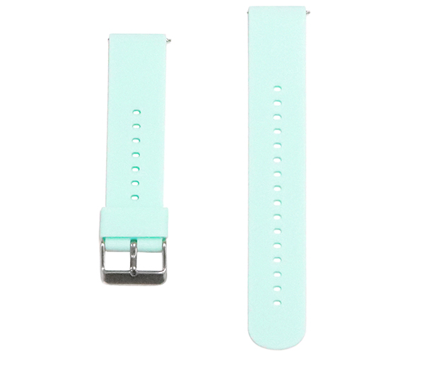 for スマートウォッチ デジタルウォッチ etc 日本 ベルト 20mm 日本正規品 ラバー アクアマリン smw06-aqm-s シリコン クイックリリース 16カラー展開