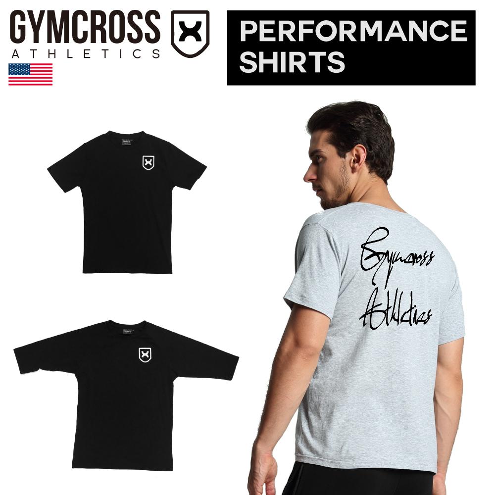 SALE California発フィットネスブランド ジムウェアの定番ブランド 1年保証 フィジークチャンプ愛用 WEB限定 GYMCROSS ジムクロス トレーニング フィットネスウェア gc-059 メンズ Tシャツ 7分袖ストレッチ 5分袖