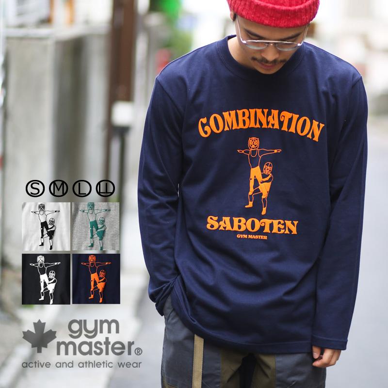 gym master (gym master) G180668 SABOTEN Ron Tee t shirt | Mask |  Professional wrestling | Group exercises | Wrestler | Long sleeves | Men's  | Lady's