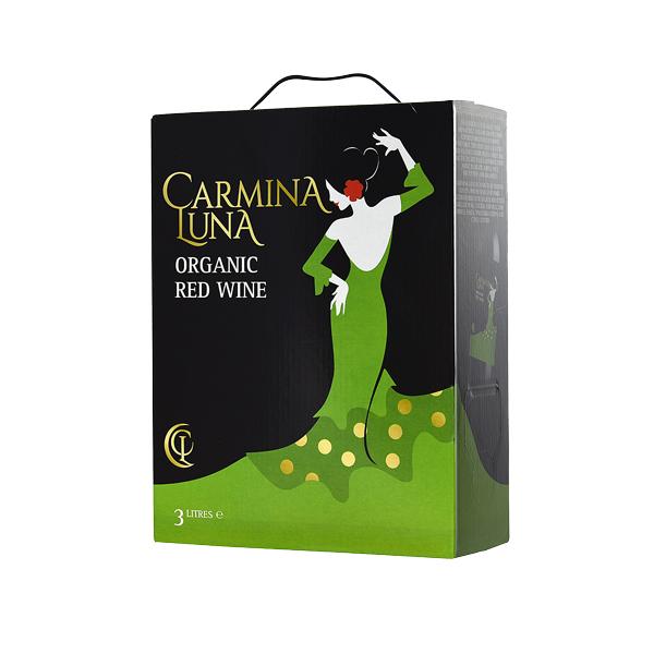 数量は多 オーガニック畑の手摘みブドウを使用 たっぷり3リットル 赤ワイン カルミナ スペイン ルナスペイン産3L 特価キャンペーン 常温便