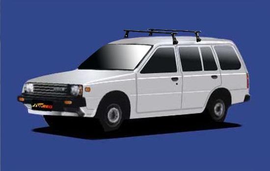 【ADバン専用システムキャリアセット】S56.10~H2.10 B11 全車共通 セイコウ TUFREQ タフレック VB8+FDA1+不要