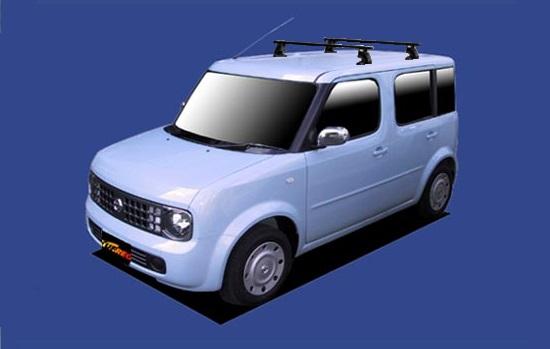 【キューブ専用システムキャリアセット】H14.10~H20.11 BZ11 全車共通 セイコウ TUFREQ タフレック VB10+FFA1+TG1