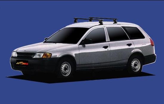 【ファミリアビジネスワゴン専用システムキャリアセット】H11.6~H12.12 Y11 全車共通 セイコウ TUFREQ タフレック VB4+FFA1+TC1