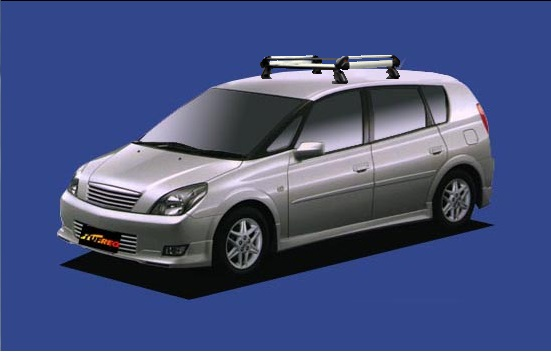 【Opa専用ルーフキャリア】SEIKOH TUFREQ ル-フキャリア Hシリーズ H12.5~H17.8 ACT10/ZCT10/ZCT15 全車 HE22A1 セイコウ タフレック 精興工業
