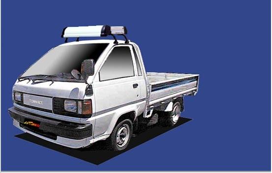 【タウンエーストラック専用ルーフキャリア】SEIKOH TUFREQ ル-フキャリア Kシリーズ H2.8~H11.5 M5#/6# シングルキャブ KL325B セイコウ タフレック 精興工業