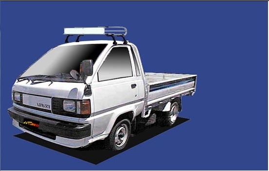 【ライトエーストラック専用ルーフキャリア トラック用】SEIKOH TUFREQ ル-フキャリア Cシリーズ H2.8~H11.5 M5#/6# シングルキャブ CL325B セイコウ タフレック 精興工業
