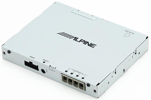 即納 アルパイン TUE-T500 4チューナー×4アンテナ車載用地上デジタルチューナー 車載用地デジチューナー RCAケーブル接続 TUE-T-500