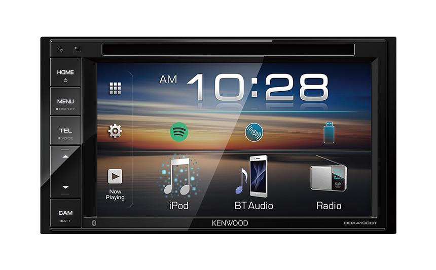ケンウッド DDX4190BT ブルートゥース搭載ディスプレイオーディオ DVD CD USB iPod Bluetoothレシーバー MP3 WMA AAC WAV FLAC対応 DDX-4190BT DDX4190-BT