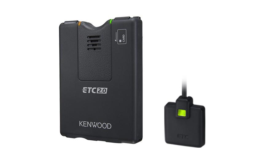 彩速ナビ連動型ETC2.0車載器 期間限定特価 1~2営業日出荷 JVC ケンウッド ETC-N3000 カーナビ連動型 ETC2.0車載器 安心の日本製 利用履歴確認 GPS・スピーカー内蔵アンテナ 音声案内 ETCカード抜き忘れ警告 ETCカード有効期限通知 ETC-N-3000