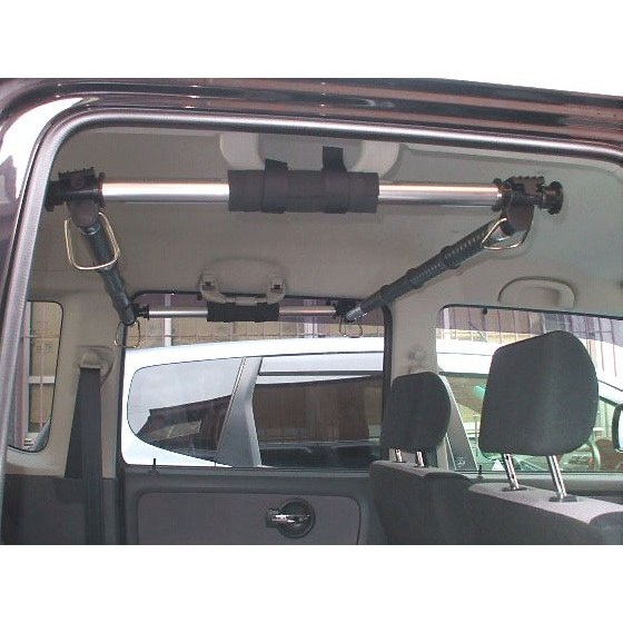 ドライブを快適に 安売り 車中泊グッズ クレトム KA-66 2本入 前後取付パーツ 車内のスペースを有効活用 釣竿サーフボードなど車内積みに最適 車内インテリアバー用パーツ ブランド買うならブランドオフ