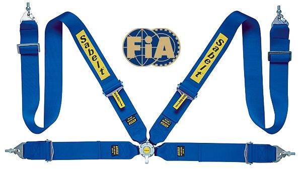 【FIA公認】Sabelt/サベルト SALOON-S 433UR サルーンS STEEL SERIES CCS433SBUD ブルー 4点式 3インチ 右席用【旧 トップフォーミュラB】FIA8854/98