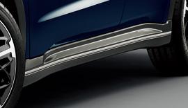 無限 MUGEN 70219-XMR -K0S0-RS サイドスポイラー ABS製 ルーセブラックメタリック VEZEL ヴェゼル ベゼル