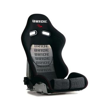 BRIDE G33GZR STRADIAII グラデーションロゴ スーパーアラミド製ブラックシェル ロークッション ブリッド リクライニングシート