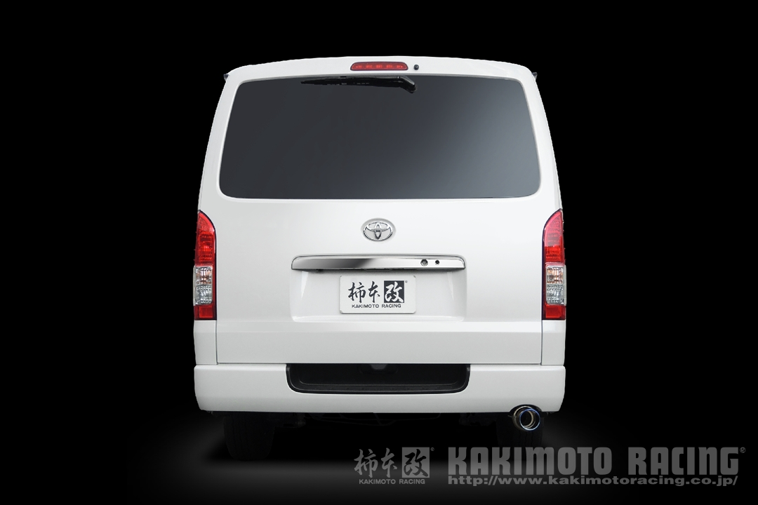 柿本改 マフラー 【T443159】 GT box 06&S ハイエース スーパーGL/DX 17/12~ QDF-GDH201V