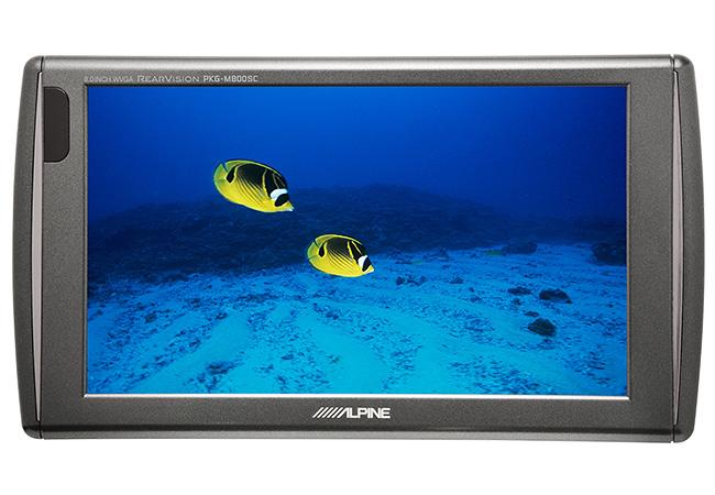 ★クレジットカード利用可★ ALPINE(アルパイン) PKG-M800SC 8.0型液晶モニター スタンダードモデル ヘッドレスト取付けアームパッケージ