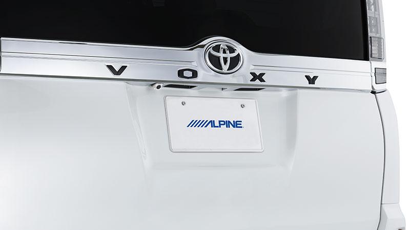 HCEC1000DNVEW HCE-C1000D-NVE-W ヴォクシー/ノア/エスクァイア専用HDRバックビューカメラパッケージ(カメラ色:ホワイト) アルパイン