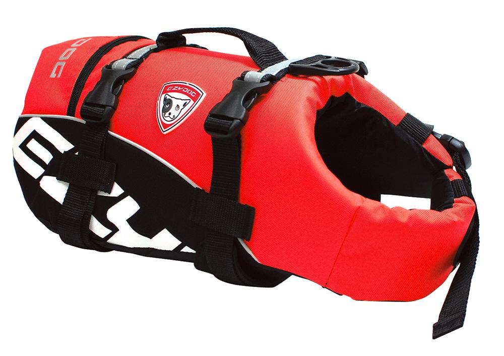 EZ イージードッグ フローティングジャケット DFDスタンダード XL レッド