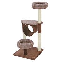 ペティオ ADD 猫のおあそびポールチェックミドルタイプ A25502 送料無料