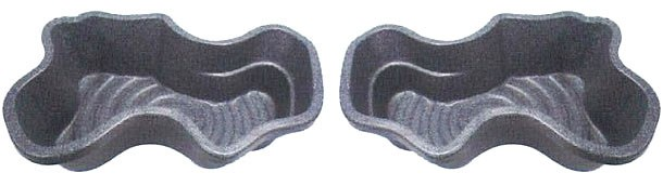 タカラ みかげ調プラ池 D65 65L ※向きのご指定はできません。