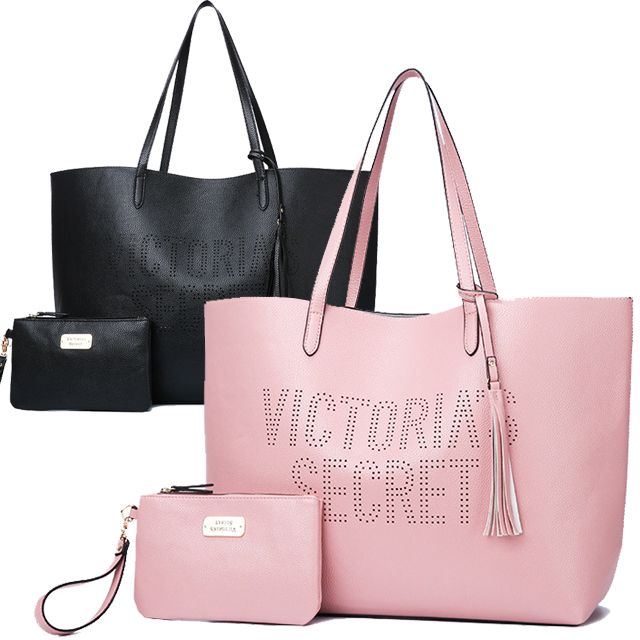 With tassel charm with the VICTORIA'S SECRET Victoria secret tote bag porch