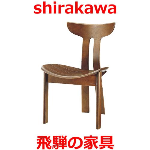 シラカワ ポロックチェア S-720 レッドオーク(ナラ材)肘無し 飛騨高山 ダイニングチェア Polloc shirakawa