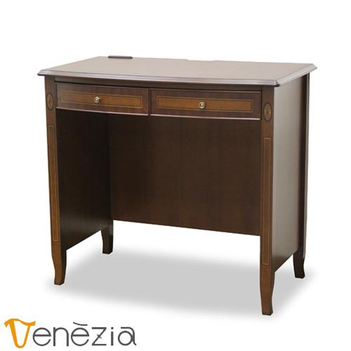 ベネチア デスク80 Venezia 机 書斎机 アンティーク調 完成品 東海家具