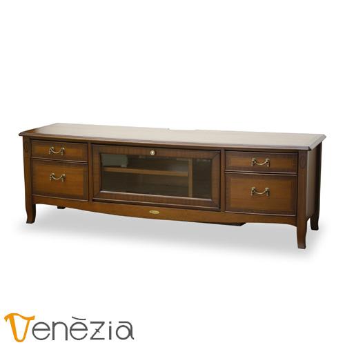 ベネチア TVボード150 Venezia テレビ台 テレビボード アンティーク調 完成品 東海家具