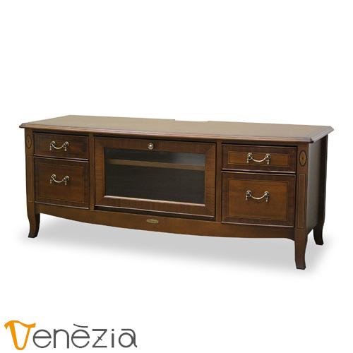 ベネチア お歳暮 TVボード120 Venezia テレビ台 アンティーク調 完成品 テレビボード 東海家具 数量は多