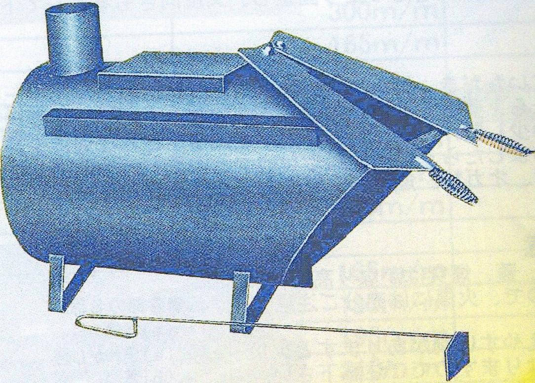 公式 薪ストーブ D-51型【メーカー直送】:ハーティ・エクスプレス ?ムダのない廃材ストーブ!-その他