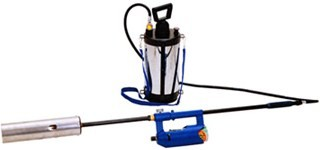 ■草焼一番ハイブリッドバーナー KY-5000HB灯油とボンベで使う!