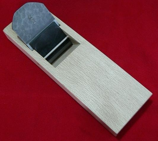 ■送料無料!山本芳楽(三木)鉋カンナ「広重」白紙白樫 寸六(64mm) 削ろう会