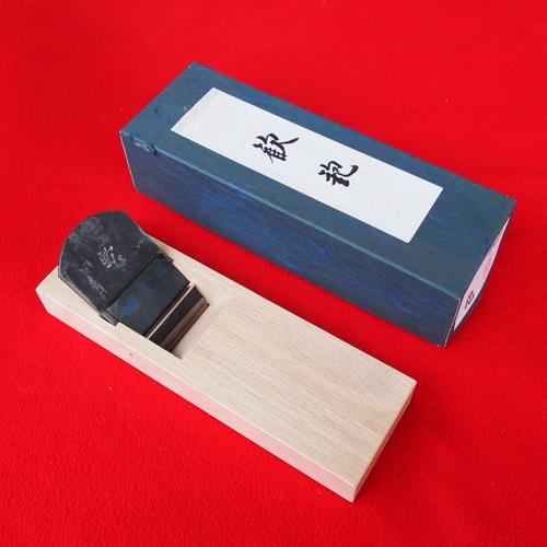 ■播州三木 山本鉋 歓 白樫半包台 70mm 寸八 かんな