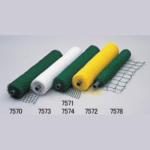■キンボシ 有結ロール巻ネット(黄) 25ミリ目 1m×30m 園芸 農業