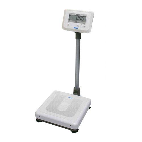 ■ヤマト デジタル体重計 DP-7900PW 検定品 ひょう量150kg 秤 YAMATO 一体型 単1電池 健康診断 検診