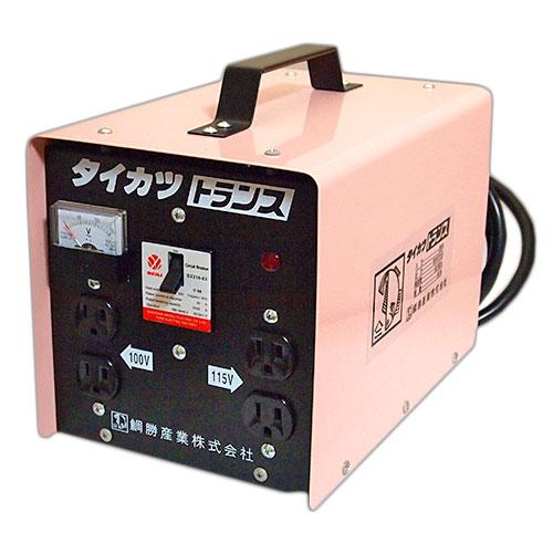 ■タイカツ 変圧トランス3KVA 変圧器30A  200Vを100V、115Vに! 鯛勝産業