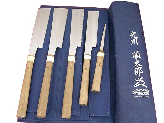 ■伝統工芸士 光川順太郎作 細工鋸 五本組