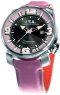 【送料無料】I.T.A. Casanova Sport / darkgray & purpleカサノバスポーツ/ダークグレー&パープルRef.00.12.14輸入元 一新時計ITA I T A イタ イタリア 腕時計 ウォッチ ウオッチ