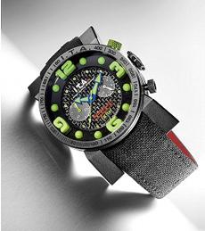 【送料無料】I.T.A . B.COMPAX FACTORY / black  greenビーコンパックス ファクトリー/ブラックグリーンRef.00.05.10 輸入元 一新時計ITA I T A イタ イタリア 腕時計 ウォッチ ウオッチ