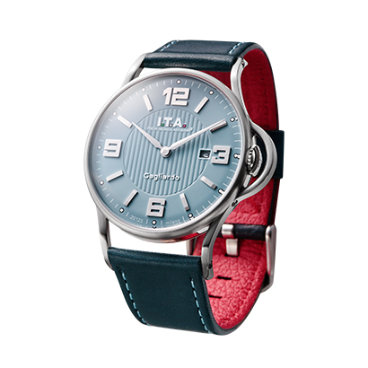 【 ITA 新作】 送料無料 Ref.23.00.03 I.T.A. Gagliardo ガリアルド Ice Blue dial アイスブルーダイアルニューコレクション 2016年11月発売 輸入元:一新時計