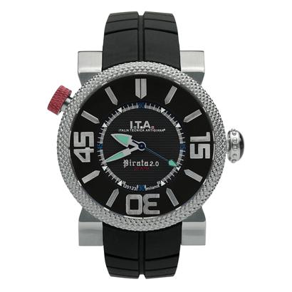 【ITA新作】送料無料 Ref.20.00.02 I.T.A. Pirata 2.0 ピラータ 2.0ピラータ2.0 フルモデルチェンジRef.20.00.02 輸入元 一新時計ITA I T A イタ イタリア 腕時計 ウォッチ ウオッチ