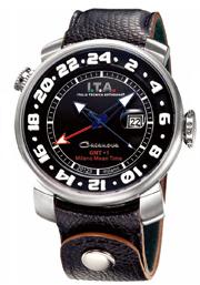 【送料無料】I.T.A. Casanova GMT+1カサノバ ジーエムティー プラスワンRef.12.60.01 輸入元 一新時計ITA I T A イタ イタリア 腕時計 ウォッチ ウオッチ