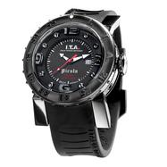 I.T.A . Pirata blackピラータ ブラックRef.00.04.08 輸入元 一新時計ITA I T A イタ イタリア 腕時計 ウォッチ ウオッチ