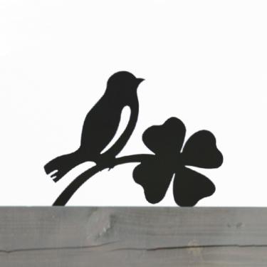 ウェルカムアニマル 幸せの鳥のエクステリア ANIMAL-09「幸せの鳥」ステンレス ひょうさつ【GHO表札】【人気表札】【動物】【しあわせ】【とり】