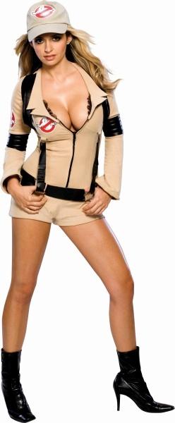 ゴーストバスターズ・ウーマン レディース (Ghostbusters Woman) [ゴーストバスター コスプレ 大人 女性用衣装 ハロウィン衣装]【860753】_HB