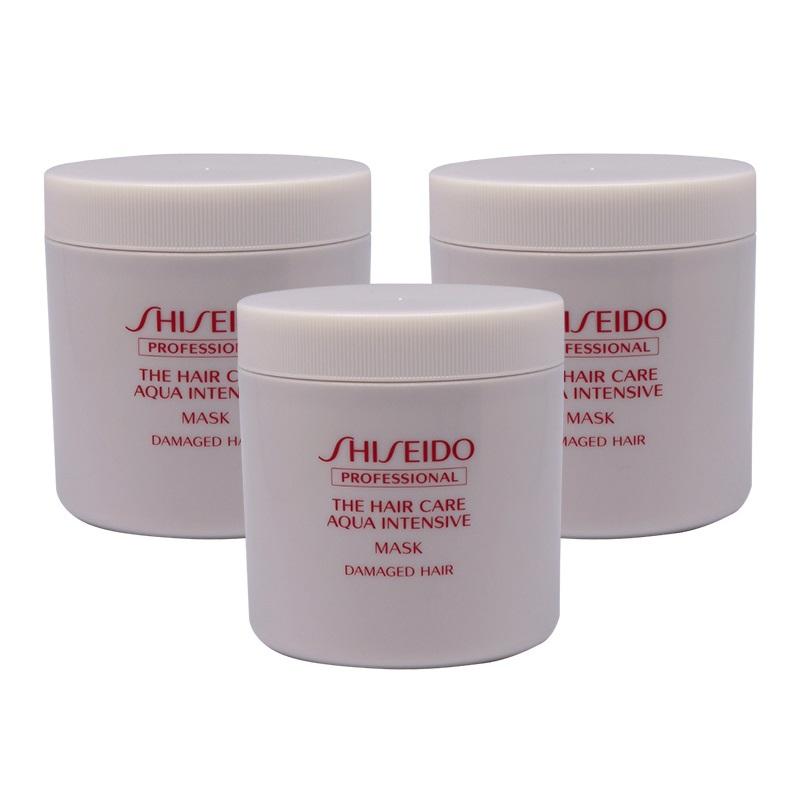 資生堂プロフェッショナル アクアインテンシブ マスク 680g×3個セット shiseido professional aqua intensive ザヘアケア トリートメント ヘアマスク 詰め替え 業務用 レフィル 傷んだ 集中トリートメント【送料無料】
