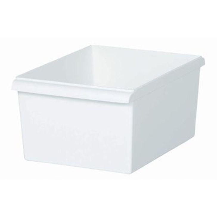 組合せ自由な収納システム カラーボックスにもジャストサイズ 未使用品 吉川国工業所 JT-05 コンテナースリム 浅 インナーボックス 収納ケース JUST-IT ホワイト 公式通販 収納ボックス カラーボックス