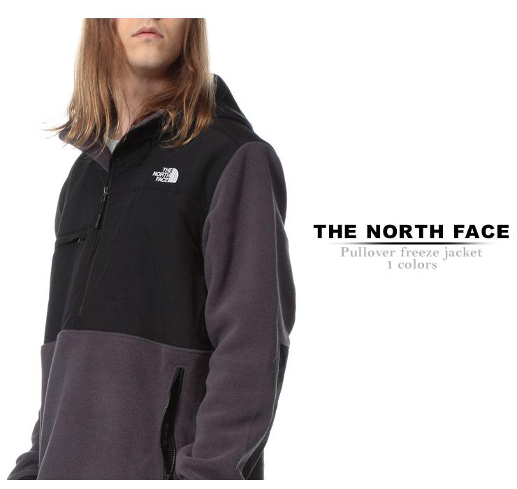 ノースフェイス ジャケット THE NORTH FACE 胸ロゴ ハーフジップ アノラックジャケット Denail Anorakメンズ カジュアル 男性 ファッション トップス アウター スタンド フード フリース 秋冬 NF0A3MMT