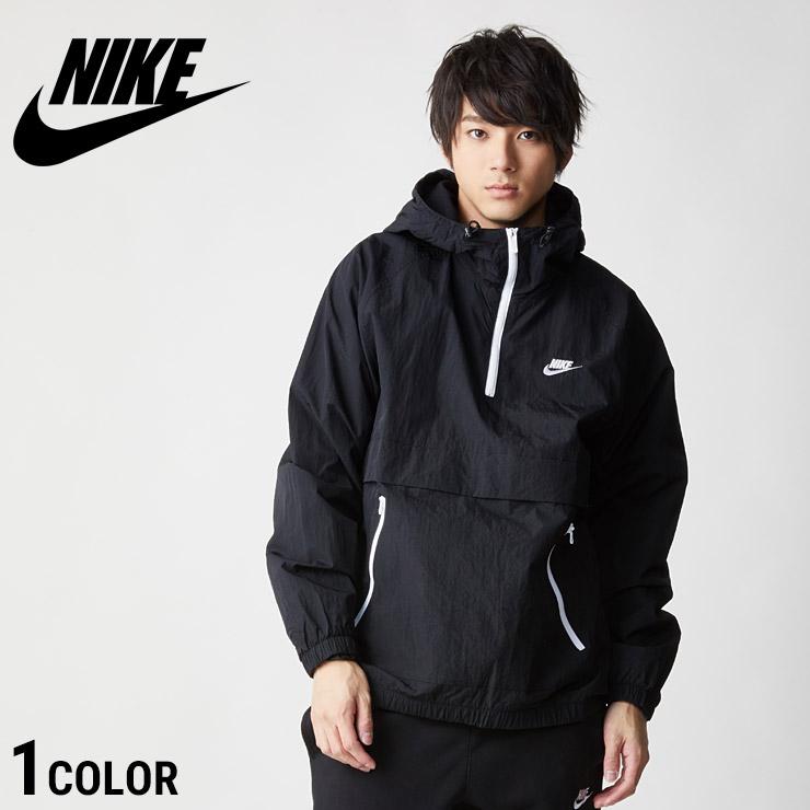 アノラックジャケット ナイキ BLACK ANRK WVN HD JACKET Nike ブラック [メンズ 男性 ストリート スポーツ アウター ジャケット アノラック ウェア 黒] AR2213-010