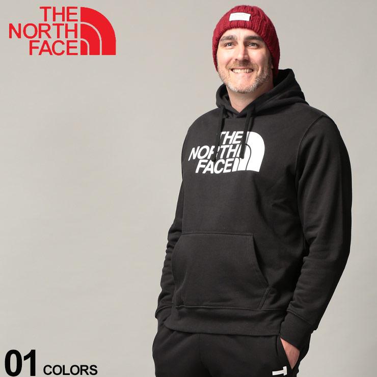 大きいサイズ メンズ THE NORTH FACE (ザ ノースフェイス) 裏起毛 フロントBIGロゴ プルオーバー パーカー カジュアル トップス フード プルパーカー 暖かい 秋冬 NF0A3FR1D22